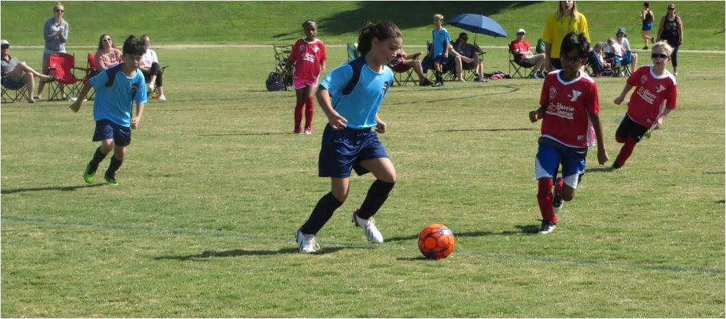 U10 Soccer Practice at Hope Soccer Ministries.
