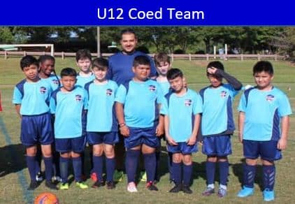 Rec Soccer Team for 12 year old boys.