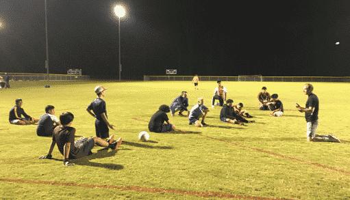 U14 Hope Soccer practice