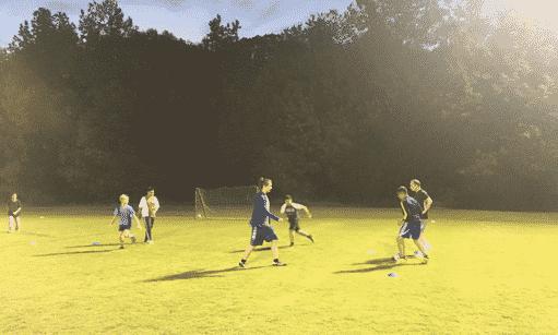 U14 Hope Soccer practice in Pineville