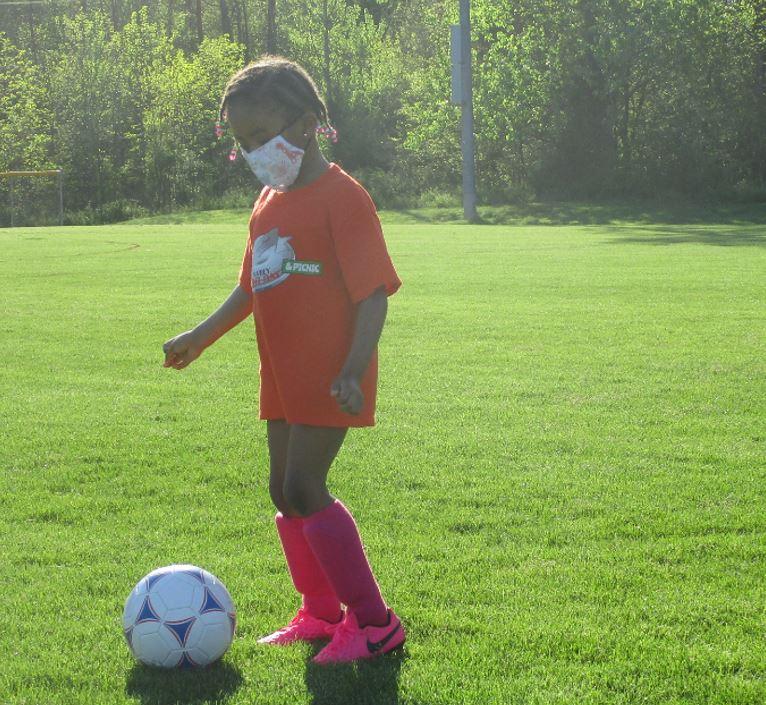 Hope Soccer Ministries has coed teams.