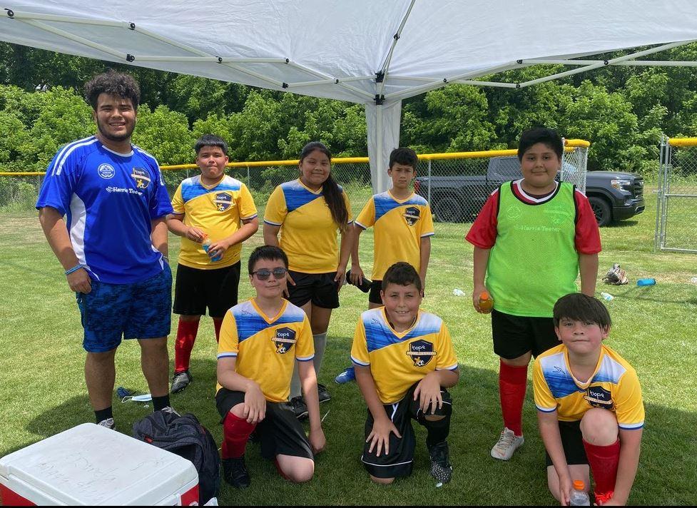 Hope Soccer Ministries U12 team